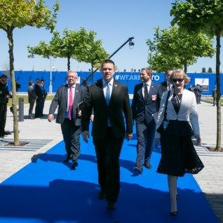 <font color=&quot;#d30008&quot;>FOTOD |</font> Peaminister Ratas osales Brüsselis NATO tippkohtumisel