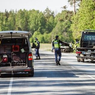 На шоссе Таллинн-Хаапсалу произошла тяжелая авария
