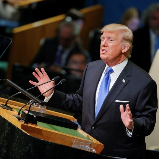"""Trump ÜRO ees: """"Kui peame ennast kaitsma, ei jää muud üle kui Põhja-Korea hävitada!"""""""