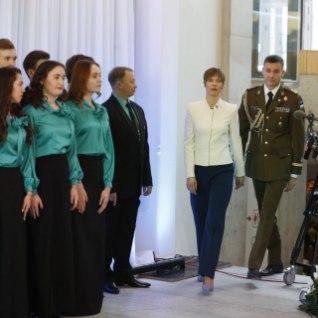 LIVE: смотрите, кому президент вручает награды в Нарве