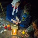 Vabaõhumuuseumis on ehe jõuluküla