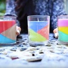 Ohhoo! Leidsime lõbusa õpetuse, kuidas teha värvilistest kriitidest küünlaid. Võta ka pere pisimad kampa ja katsetage!