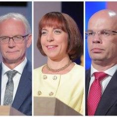 Сегодня в 13:00 в Рийгикогу начнется первый тур выборов президента. Станет ли сегодня новым президентом Эстонии Аллар Йыкс, Майлис Репс или Эйки Нестор? Или выборы продолжаться завтра во втором туре, или затем уже в Коллегии выборщиков?