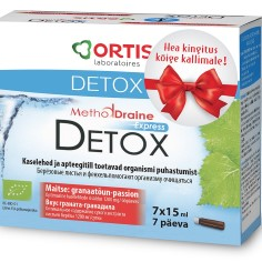 METHODDRAINE DETOX EXPRESS puhastab keha ja annab uut energiat ainult 7 päevaga!