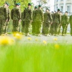 """В начале июня """"выпускная вечерника"""" срочников пехотного батальона Kalev в Палдиски закончилась вызовом полиции и проверкой на наркотики."""