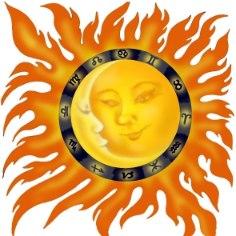 Päikese päev on pühendatud jumalikule võimule ja taevasele õnnistusele. Päeva mõte on valgustumine, vabanemine ja seeläbi muutumine ning tõus uuele tasandile. See on puhta lehe päev, mil võib alustada uut elu, ja imelik päev, mil võib juhtuda kõike. Siia alla kuuluvad ka armumine esimesest silmapilgust ja ootamatult head saatusepöörded. Oska olla imedele avatud, siiras ja optimistlik. Ole külalislahke ja kutsu külla sõpru.