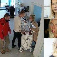 В понедельник, 29 января, владелица таллиннского салона красоты Ztudio Сандра Напсеп стоит в полупустом помещении. Пару дней назад в ее салоне произошли удивительные события.
