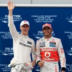 Neljakordne vormel-1 maailmameister Lewis Hamitlon on kindel, et peagi näeb kuninglikus sarjas jälle Schumacheri nime.