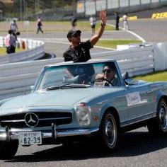 Vormel 1 hooaja Jaapani GP võitis britt Lewis Hamilton (Mercedes), kes juhtis võidusõitu sisuliselt algusest lõpuni.