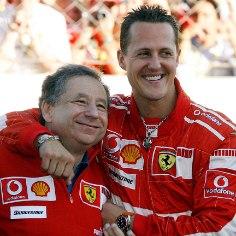 Rahvusvahelise autospordiliidu (FIA) juht Jean Todt sai Saksamaa ajakirjalt Auto Bild elutööpreemia, misjärel rääkis pisut oma suhtest Michael Schumacheriga.