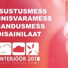 20.-22. aprillil toimub Eesti Näituste messikeskuses sisustusmess Interjöör, mis on Eesti suurim sisustusmess, hõlmates lisaks sisustusele ka kinnisvara, aianduse ning disaini valdkondi.