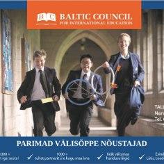 """25. märtsil Tallinnas toimub kõige populaarsem haridusmess """"Days of International Education"""" (""""Rahvusvahelise hariduse päevad""""). Messil osaleb rohkem kui 80 osalejat. Üritusel on esindatud: välismaa kõrg- ja ärikoolid, eliiterakoolid, rahvusvahelised keeltekoolid noortele ja täiskasvanutele, kutsekoolid, keelelaagrid lastele vanuses 7-18 aastat jt."""