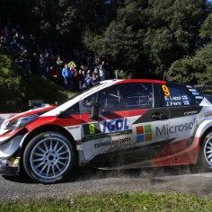 27aastane Toyota meeskona kuuluv soomlane Esapekka Lappi jätkab rallimaailma üllatamist. Esimest korda WRC-autoga Korsikal kihutanud Lappi näitas suurepärast minekut ja tõestas, et kuulub ka asfaldil maailma tippu.