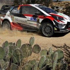 Autoralli MM-sari jätkub sel nädalavahetusel Argentinas. Kuna meeskondadel on aga keelatud väljaspool Euroopat testida, valmistus Toyota kruusaralliks Lõuna-Hispaanias Almerias.