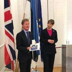26. märtsil toimus Londonis asuvas Eesti saatkonnas pidulik vastuvõtt, kus president Kersti Kaljulaid andis Maarjamaa Risti V klassi teenetemärgi M-Spordi rallimeeskonna juhile Malcolm Wilsonile.