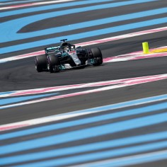 Vormel 1 Prantsusmaa GP kvalifikatsioonis sõitis kiireima ringiaja britt Lewis Hamilton (Mercedes).