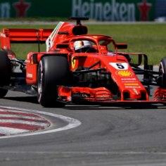 Vormel-1 Kanada GP-l naudib esikohalt rajale minemist Ferrari esipiloot Sebastian Vettel.