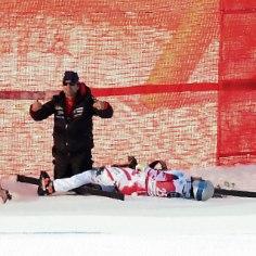VIDEO JA FOTOD | Karm kukkumine mäesuusatamise MK-etapil: austerlane viidi helikopteriga haiglasse