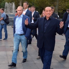 Silvio Berlusconi ja Vladimir Putin moodustavad kummalise paari