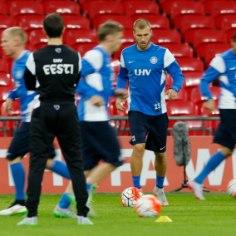 GALERII | Eesti koondise treening Wembley staadionil