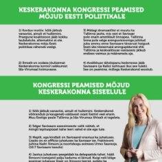 <font color=&quot;#d30008&quot;>TABEL |</font> MIS SAAB KESKERAKONNAST EDASI: mõjud Eestile, mõjud parteile