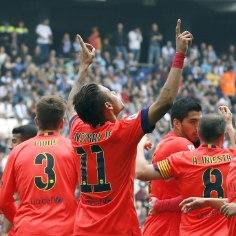 GALERII: kodulinna tulise derbi võitnud FC Barcelona astus veel ühe sammu tiitlile lähemale