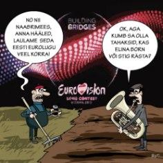 Karikatuur | Eurovisioni lainetes