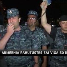 <font color=&quot;#d30008&quot;>TV3 VIDEO  </font> Armeenias sai meeleavaldusel viga 60 inimest