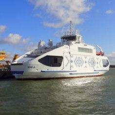1. mail jõuab Sõru-Triigi liinile uhiuus parvlaev Soela