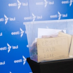 """ERR reklaamib """"Eesti laulu"""", mille tulust enamiku nopib Saku suurhall"""