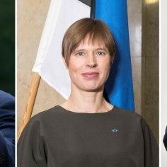 VAATA | Trump ja Putin saatsid Kaljulaidile Eesti juubeliks õnnitluskirjad