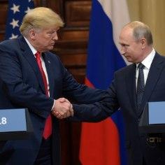 <font color=&quot;#d30008&quot;>USA PRESIDENT TRUMP:</font> ootan kannatamatult uut kohtumist Putiniga