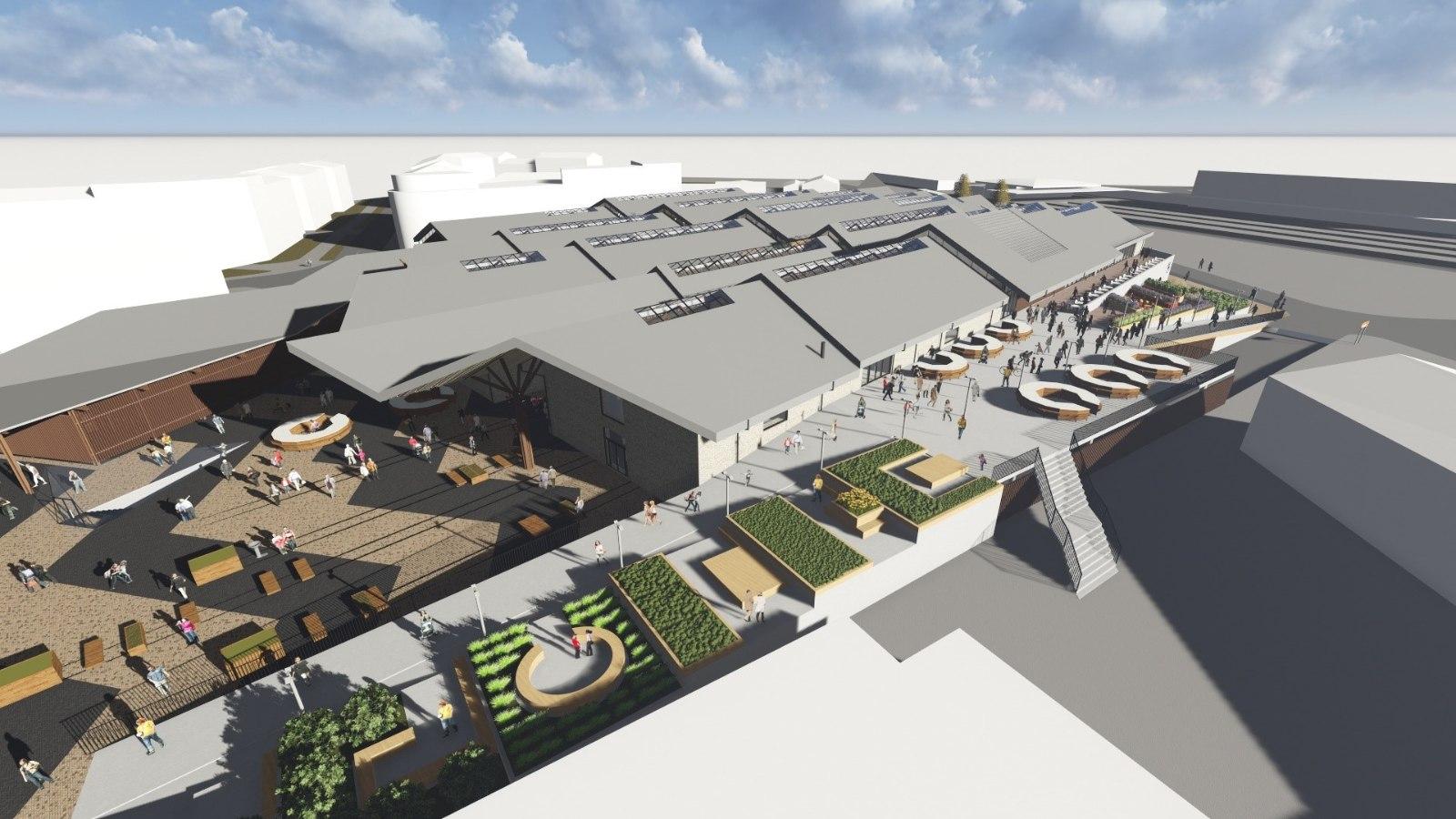 569bfef01d8 PUTKAMAJANDUS ON MINEVIK: Balti jaama turu asemele kerkib suur  kaubanduskeskus | Õhtuleht