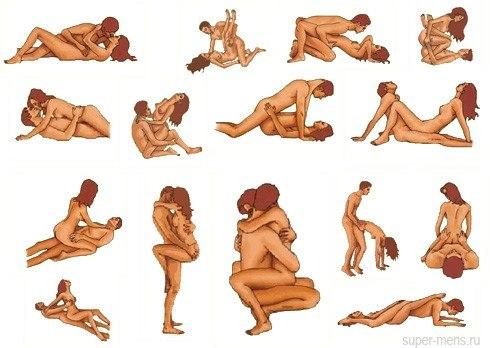 Любимые позы парня в секс