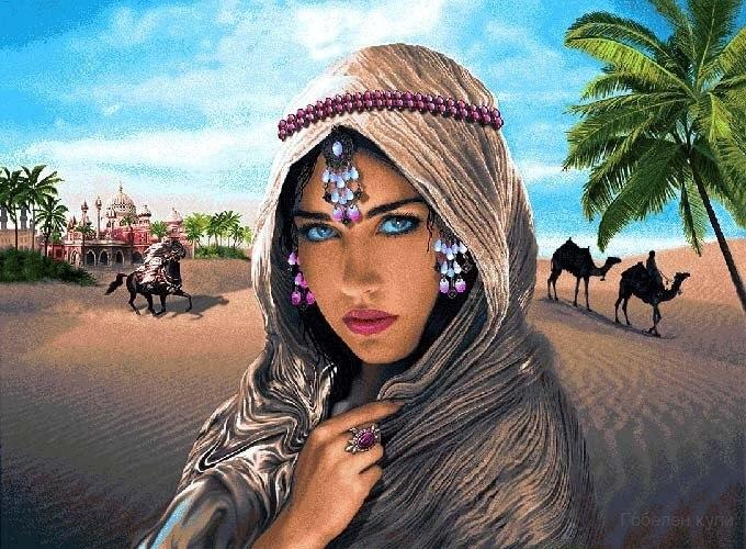 Арабская девушка скес скес