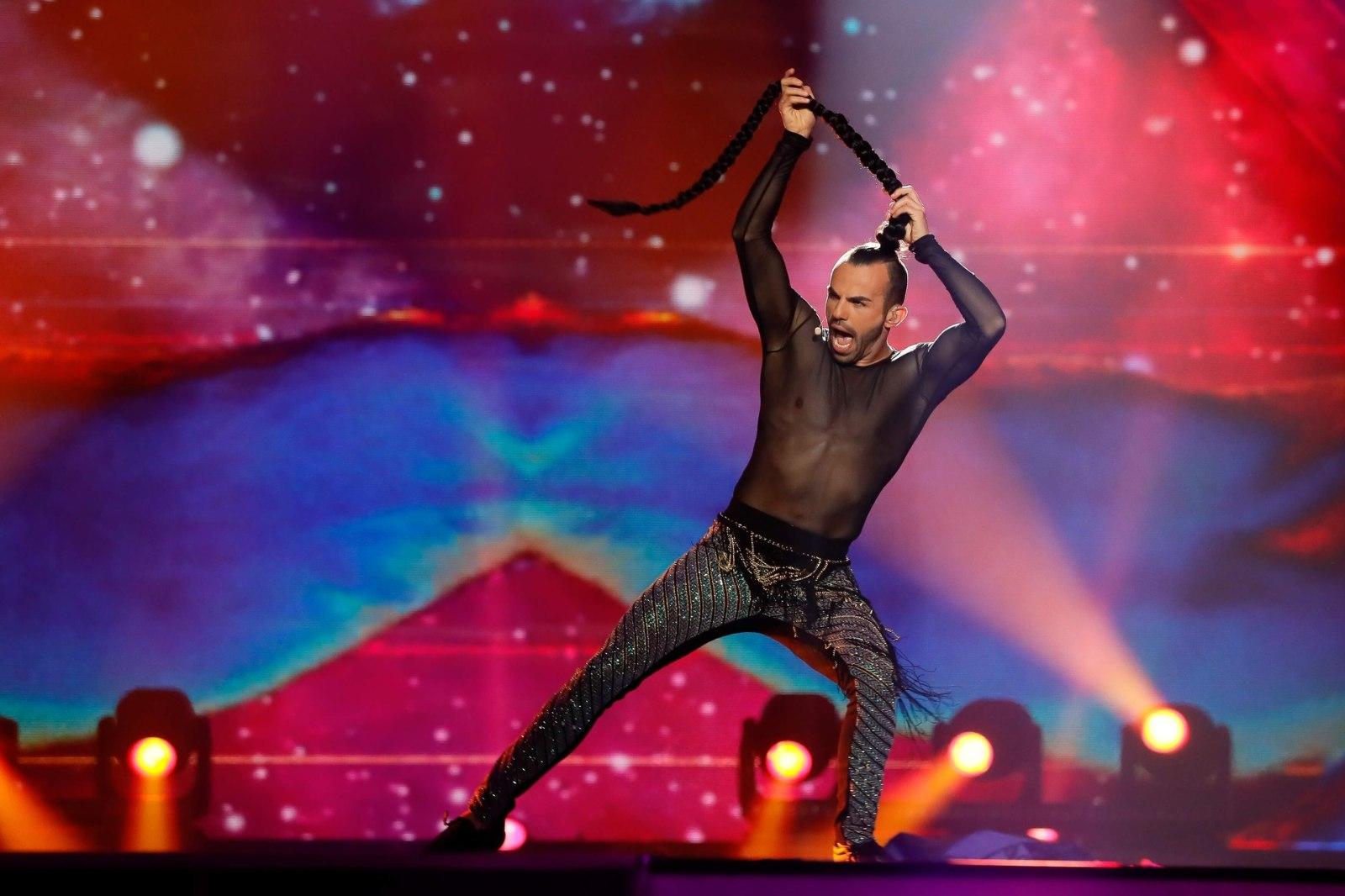 3d2a1d2b0c4 Montenegro eurolaulik kiidab Daniel Levi näosaate paroodiat | Õhtuleht