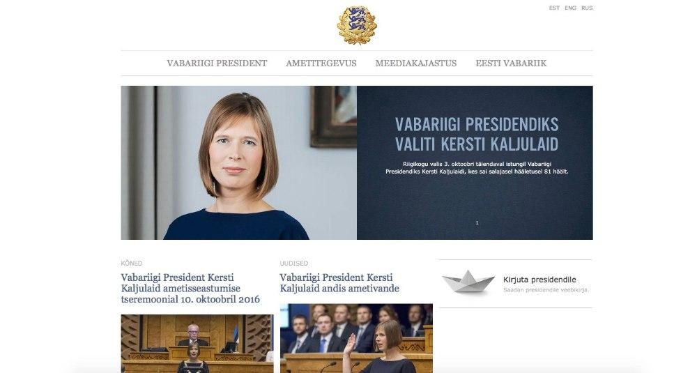 eesti president 2016