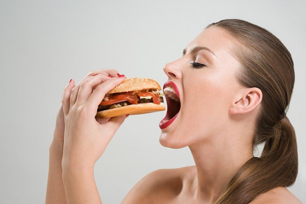 sensational woman is eating hotdog and getting banged  348530