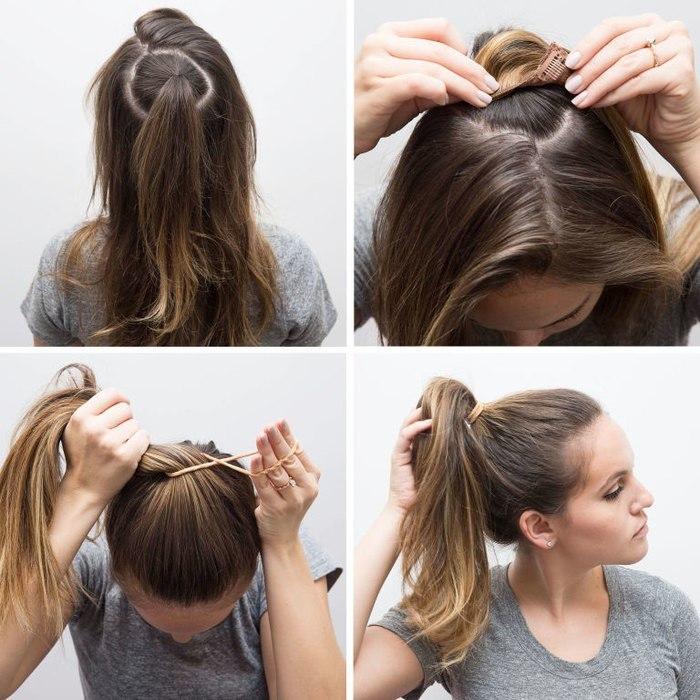 Как сделать волосы густыми прически