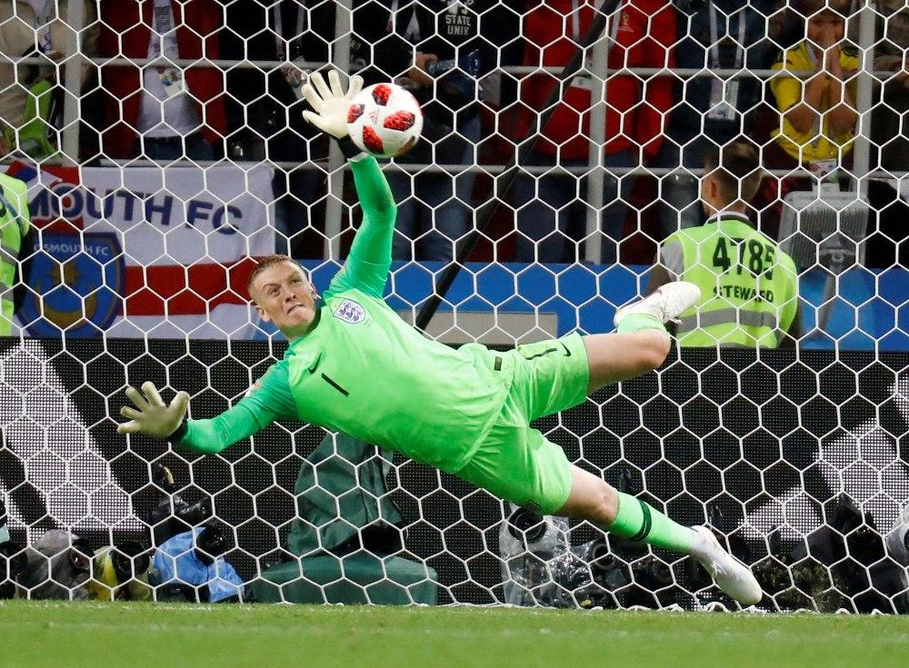 a284dabdf49 NII SEE JUHTUS   Jalgpalli MM: Inglismaa väravavaht vastas Belgia ...