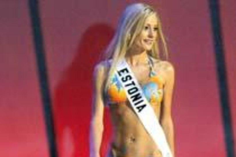 Eesti miss sammu kaugusel «Miss Universumi» finaalist