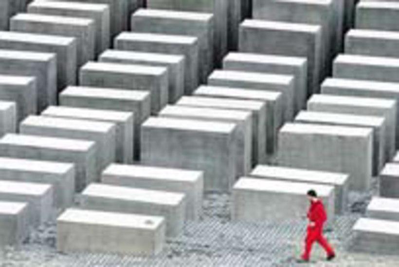 Berliinis avati holokausti memoriaal