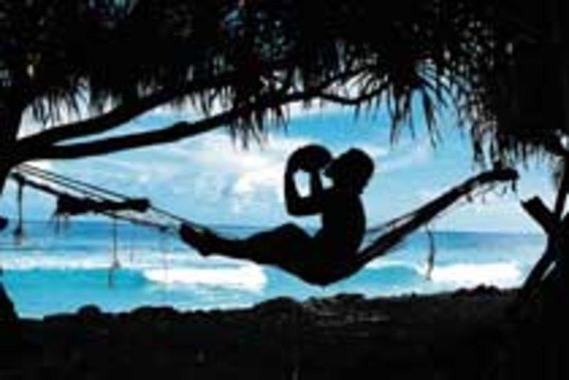 Tuvalu kaob merelainetesse