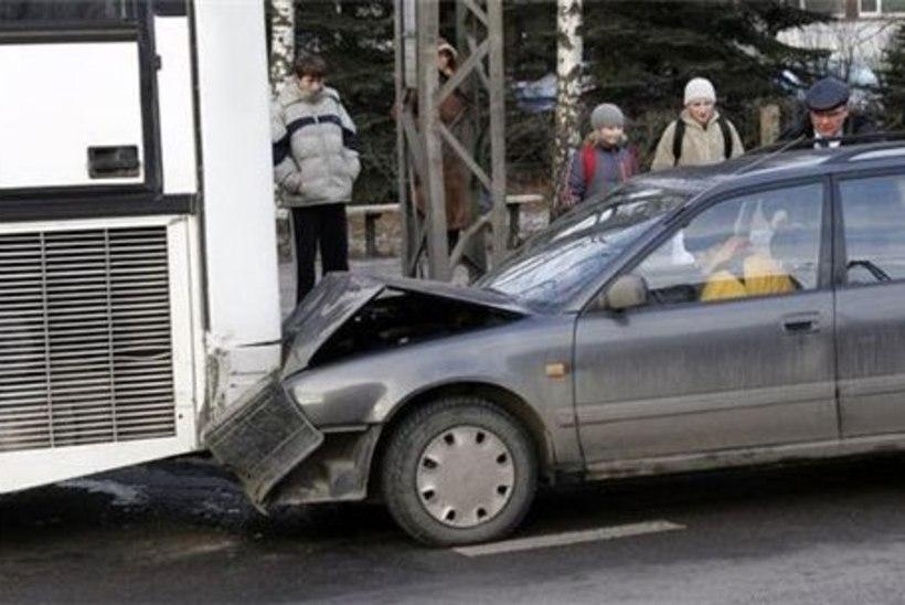 Kõige levinum liiklusõnnetus on tagant otsasõit