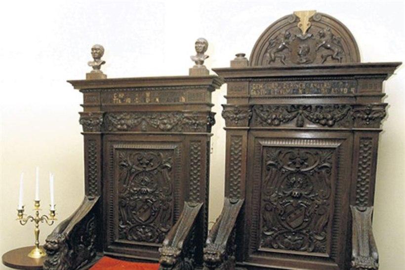 Lutheri vineerpõhjaga toolid tegid ilma ülemöödunud sajandi vahetusel