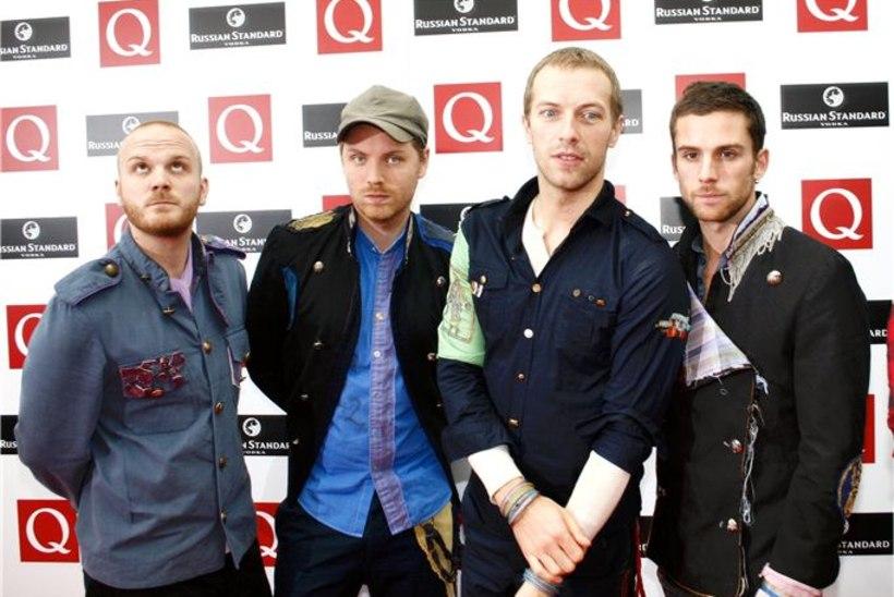Coldplay napsas kaks World Music Awardsi auhinda