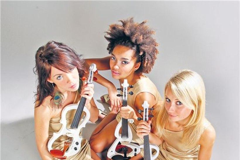 Violina – kolm Eesti Vanessa Maed korraga laval