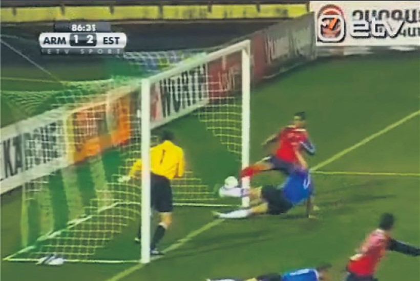 Julm jalgpallirööv Jerevani linnas