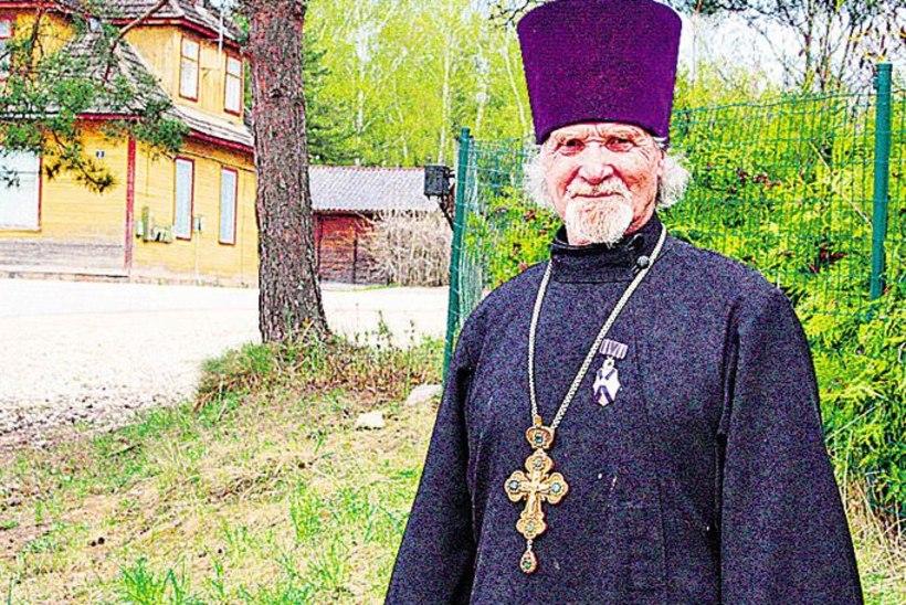 Petseri preester sai Eesti kirikupealt ordeni