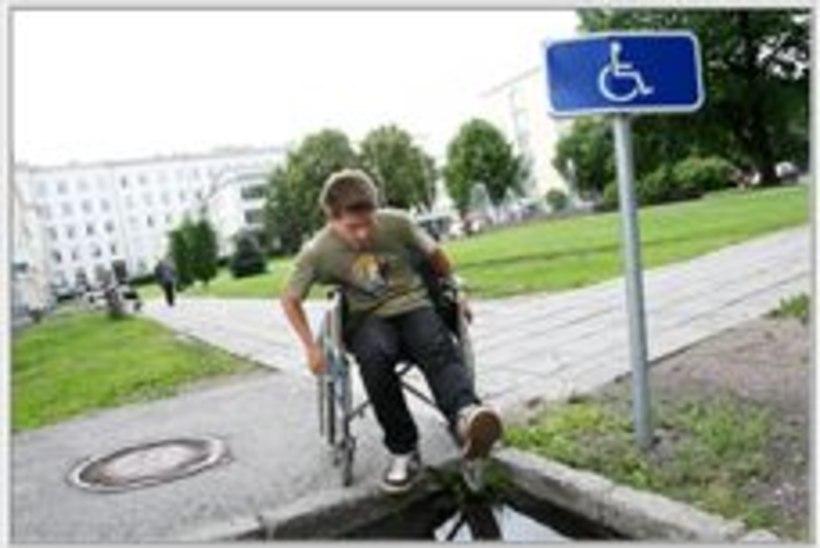 Homme toimub Tallinnas ratastooliralli